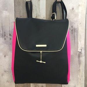 Juicy Couture Backpack Bag Pink Black